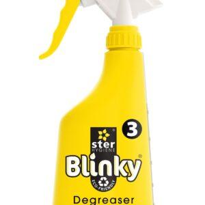 Blinky Ontvetter fles geel