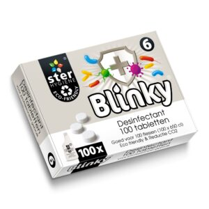 Blinky Desinfectant tabletten 100